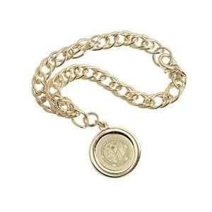 South Alabama   Charm Bracelet   Gold