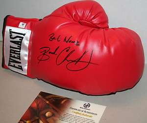 BAD CHAD DAWSON signed Everlast boxing glove w/COA