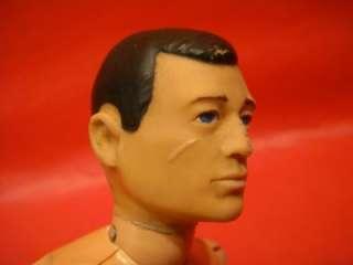 ORIGINAL G.I. JOE 1964 HASBRO TALKING SCARFACE 12 ACTION FIGURE DOLL
