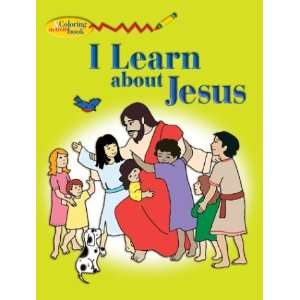 I Learn About Jesus Coloring Book (9780819836861) none Books