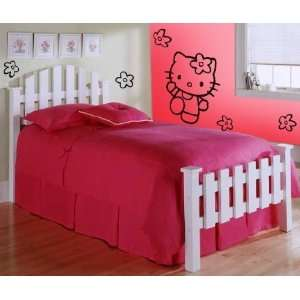 Hello Kitty Sanrio Flowers Wall Art Vinyl Decal