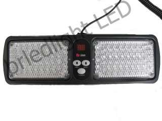 86 Led SMD Car Truck LED Emergency Strobe Visor white Light Lamp