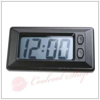 Add some functional style to your car with this classic digital clock
