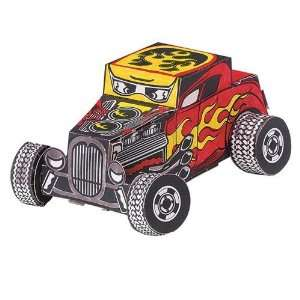 Classic Custom Hot Rod Craft Kit (Makes 12) Toys & Games