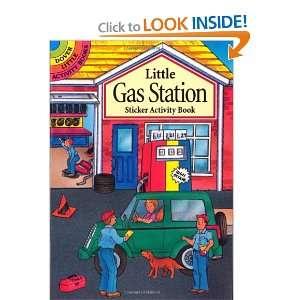 Little Gas Station Sticker Activity Book (Dover Little