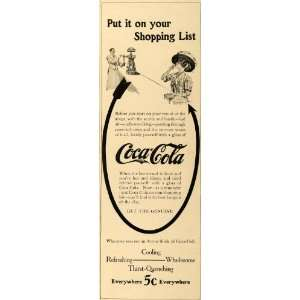 1909 Ad Coca Cola Arrow Soda Pop Fountain Refreshment
