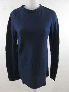 PROENZA SCHOULER Navy Blue Long Sleeve Shirt Top Sz M