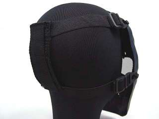 Two Style Skull Full Face Airsoft Protector Mask BK
