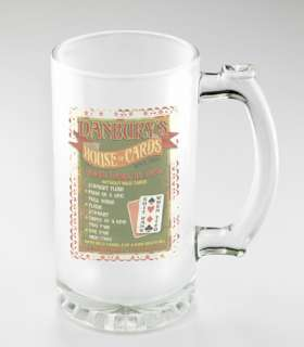 GLASS BEER MUG Groomsmen Brides Maid Wedding Gift Personalized Free 21