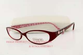 Brand New COACH Eyeglasses Frames 844 BERNICE BROWN 51 ...