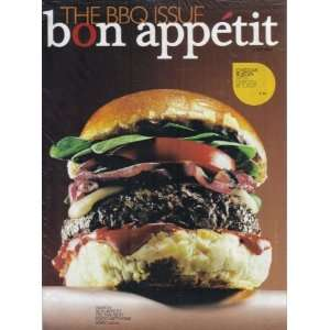 BON APPÉTIT MAGAZINE (July 2008) Featuring: THE BBQ ISSUE