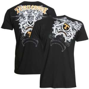 My U Tennessee Volunteers Black Razor Wing T shirt
