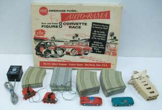 19080 Gilbert Auto Rama Over & Under Figure 8 Corvette Race/Box