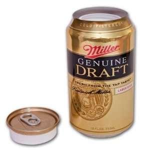 Miller Genuine Draft Beer Can Diversion Safe Office