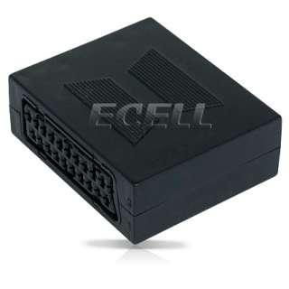 Ecell Value Range   New High Quality Scart Coupler Joiner   UK Seller
