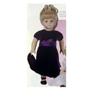 Velvet Dress Fits 18 Inch Doll Like American Girl Doll Toys & Games