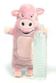 KYJEN Bottle Buddies Cruncher Plush Crackler Dog Toy