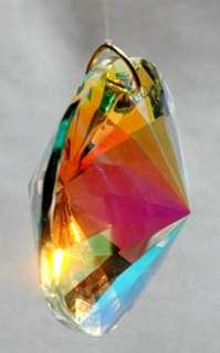 Round Faceted 40mm AB Austrian Crystal Prism SunCatcher
