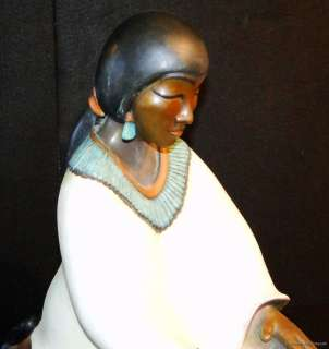 BRONZE SCULPTURE NATIVE AMERICAN ART SANTA FE LISTED ARTIST LORETTO