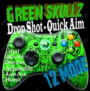 RAPID FIRE Modded Xbox 360 Controller Hydro dip 885370114843