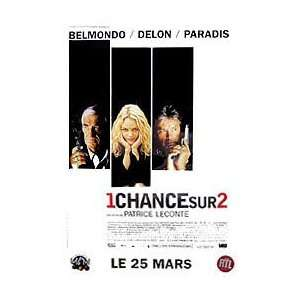 (UNE CHANCE SUR DEUX)(FRENCH ROLLED) Movie Poster