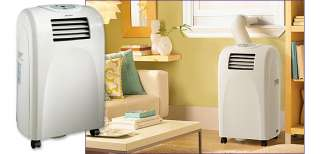 DANBY 5,000 BTU COMPACT PORTABLE AIR CONDITIONER W/ 2 WAY AIR DIRECT