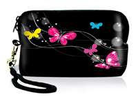 Digital Camera Case Bag Pouch+Strap for Nikon S3000 S4000 S6000