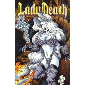 Lady Death III: The Odyssey Part 2 of 4: Enslaved: Adam Hughes: Books