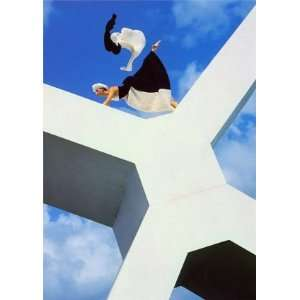 Apollonia on X, 1980s, Figurative Note Card by Norman Parkinson, 4