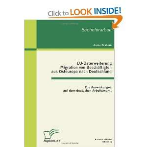 Arbeitsmarkt (German Edition) (9783863410223): Asma Braham: Books