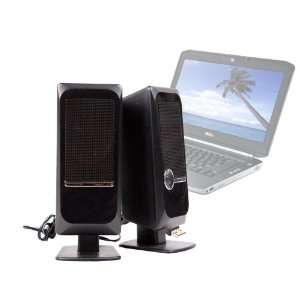 DURAGADGET Laptop Speakers With USB Connection For Dell