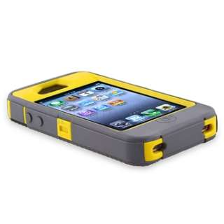 Otterbox Defender Cases Cover For iPhone 4S & 4 G Gun metal Grey/ Sun