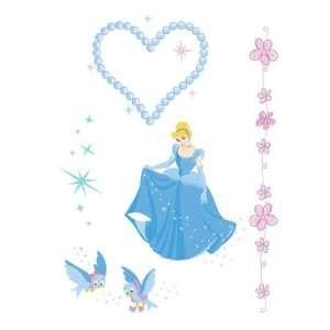 Princess Cinderella Temporary Body Sticker / Tattoos Toys & Games