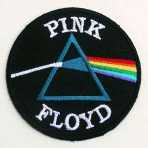 PINK FLOYD Logo Iron On Rock Band Embroiderd Patch