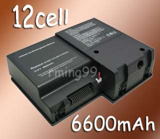 6600mAh NEW Battery Fits Dell Inspiron 9100 PP09L XPS