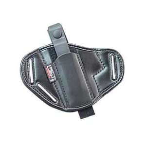Uncle Mikes Belt Slide Mirage Holster Ambidexterous Black
