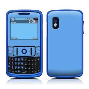 Solid State Blue Design Protective Skin Decal Sticker for Samsung Hype