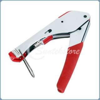 RG 6 RG 59 Coaxial Cable F connector Hand Crimping Tool