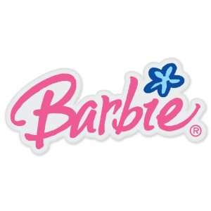 Barbie logo car vinyl sticker decal 6 x 3 Everything