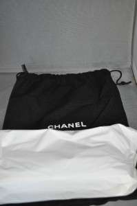 CHANEL Black Silver Quilted Chain Shoulder Clutch Bag