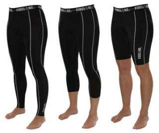 Ladies Compression Gym Clothes Running Leggings Capri Pants Shorts