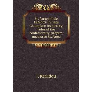 St. Anne of Isle LaMotte in Lake Champlain its history
