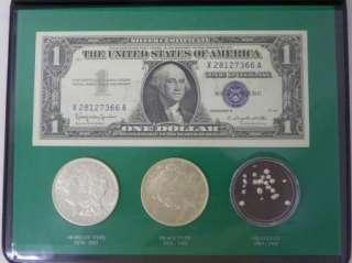 he Silver Sory, Silver Cerificae, Morgan & Peace Dollars, Granules