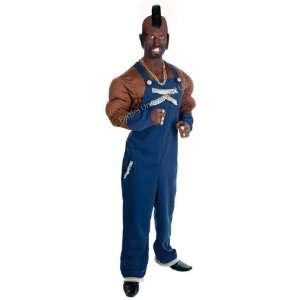 Mr T (A Team) 11pc Deluxe Fancy Dress Costume   MEDIUM Toys & Games