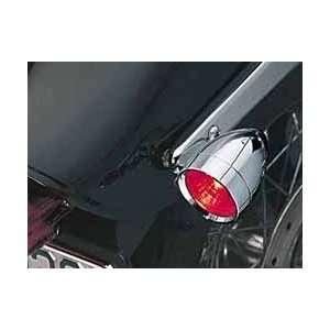 Small L.E.D. Silver Bullets   Red, Single Circuit (pr) Automotive