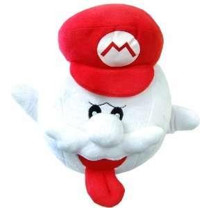 Super Mario Brothers 10 Inch Boo Plush