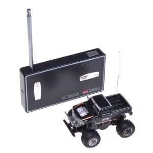 Black RC Radio Remote Control Cross Country Racing Car Toy