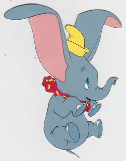 DISNEY DUMBO THE ELEPHANT WALL SAFE STICKER CHARACTER BORDER CUT