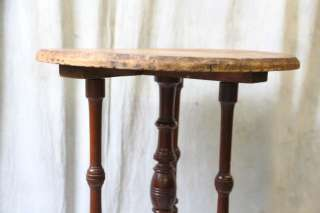 L520 ANTIQUE AMERICAN VICTORIAN EASTLAKE OCCASIONAL TABLE