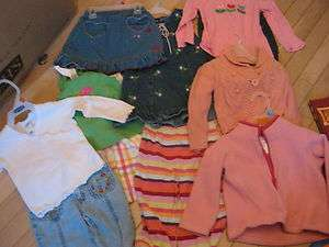 LOT OF GIRLS CLOTHES SIZE 2, GYMBOREE, OLD NAVY PLUS MORE